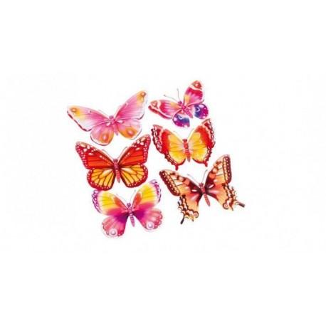 Naklejki ścienne Motyle 3D