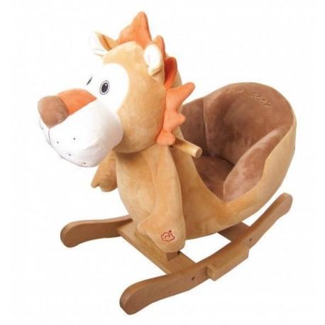 Bujaczek z fotelikiem lew Grzywek