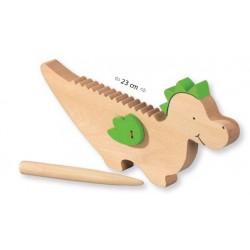 Smok Guiro instrument perkusyjny dla dziecka