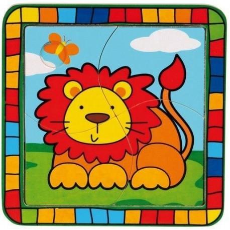 Puzzle dla malucha Lew