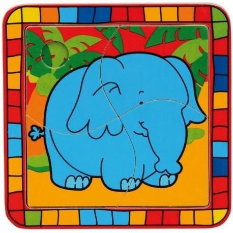 Puzzle dla malucha Słoń