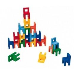 Goki układanka zręcznościowa Krzesła