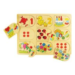 Dopasowywanka puzzle Zwierzęta