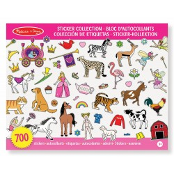 Zestaw naklejek dla dziewczynek 700 sztuk Melissa & Doug