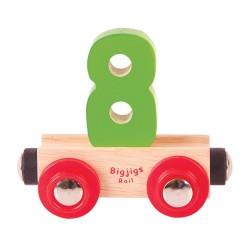 Wagonik cyferka 8