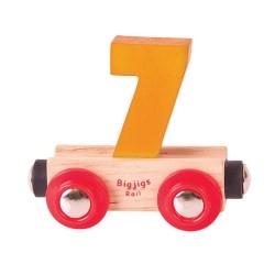 Wagonik cyferka 7