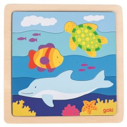 Puzzle horyzontalne Ocean