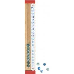 Liczydło dla dzieci GOKI kalkulator kulkowy
