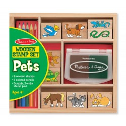 Stempelki - zestaw zwierzęta