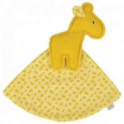 LePetit żółta przytulanka żyrafa