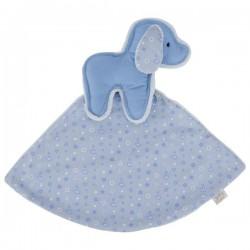 LePetit niebieska przytulanka piesek