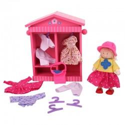 Garderoba do przebierania lalka Daisy