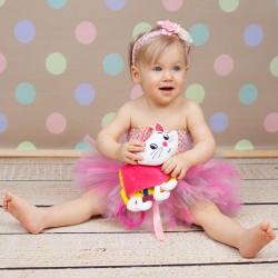 Książeczka dla maluszka - kotek różowy