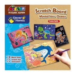 Zdrapka Scratch Art - ocean