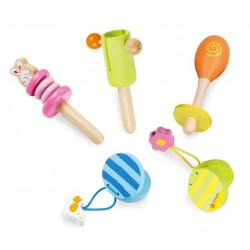 Zestaw zabawki muzyczne 5w1
