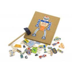 Przybijanka korkowa Roboty