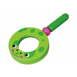 Zielona lupa powiększająca