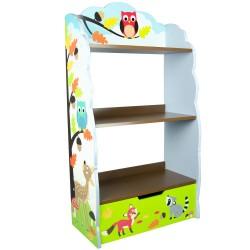 Regał na książki i zabawki