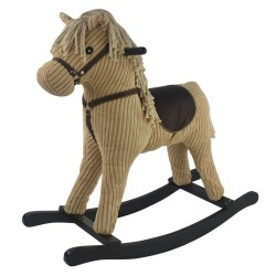 Konik na biegunach interaktywny Inka dźwięk koń ze sztruksu