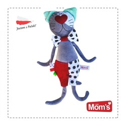 Przytulanka kot Kropek