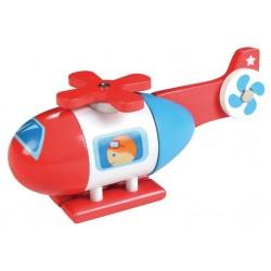 Magnetyczny helikopter do składania dla malucha