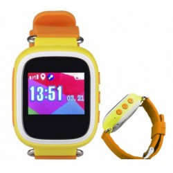 Wodoodporny zegarek lokalizacyjny z GPS IP 67 KIDDO MIZU niebieski