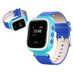 Zegarek lokalizacyjny z GPS KIDDO JUST niebieski