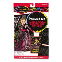 Zdrapka do grawerowania księżniczki