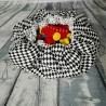 Mata do zabawy/worek na zabawki 2w1 romby/groszki 150 cm