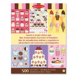 Naklejki kreatywne Słodycze Melissa & Doug