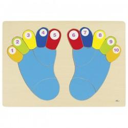 Układanka stopy