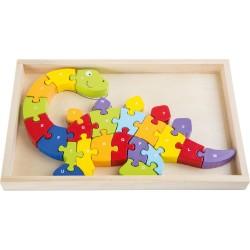 Puzzle dino ABC