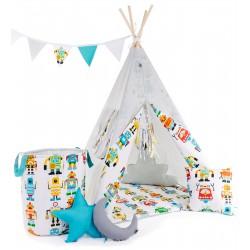 """Namiot TIPI dla chłopca """"Ja robot"""""""