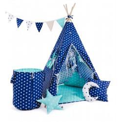 """Namiot TIPI dla dziecka """"Gwieździste niebo"""""""