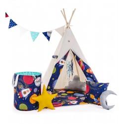"""Namiot TIPI dla dziecka """"Kosmiczna odyseja"""""""
