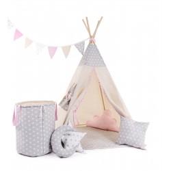 """Namiot TIPI dla dziecka """"Gwiazdkowa perełka"""""""