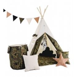 """Namiot TIPI dla chłopca """"Mały żołnierz"""""""