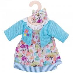 Ubranko dla lalki w kwiaty