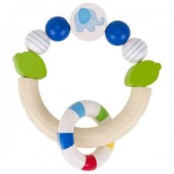 Pierścień dotykowy Słonik niebieski