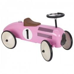 Jeździk Goki - różowa wyścigówka