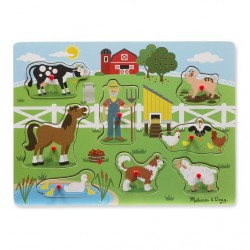 Puzzle dźwiękowe - Old MacDonald