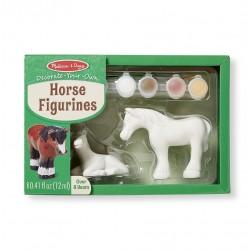 Konie - figurki do malowania