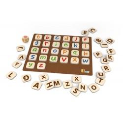 Gra Kolorowy alfabet
