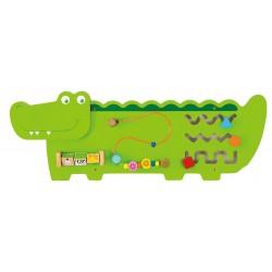 Układanka panel ścienny - Krokodyl