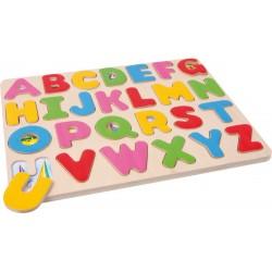 Puzzle ABC układanka z alfabetem