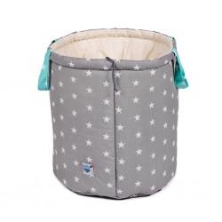 Dwustronny kosz na zabawki - pojemnik do przechowywania Gwiazdkowa perełka z miętą