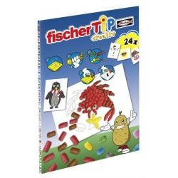 """Fischer TiP - książka z szablonami do wyklejania """"Pory roku"""" - produkt promocyjny"""