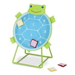 Rzut do tarczy z żółwiem