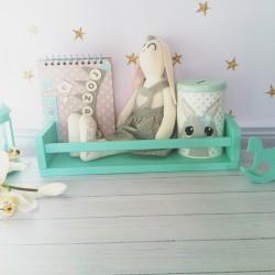 Drewniane krzesełko dla dziecka królik