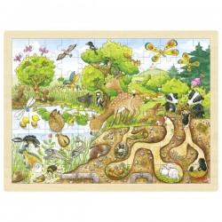 Puzzle duże natura